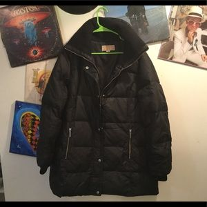 MICHAEL KORS QUILTED DOWN JACKET SZ L